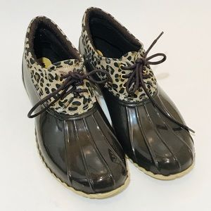 Tommy Hilfiger HOVER-C Brown Duck Booties Sz. 8